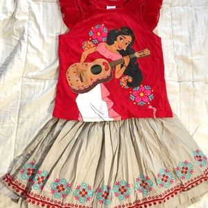 Elena of Avalor girl's outfit